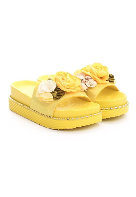 Żółte Klapki Gaining