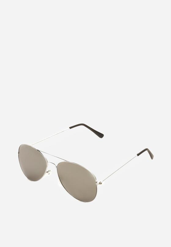 Srebrne Okulary Cooling