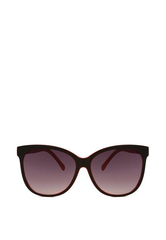 Czarno-Czerwone Okulary Impressionism
