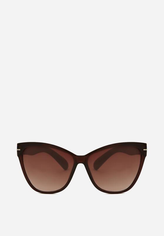 Brązowe Okulary Avantgarde