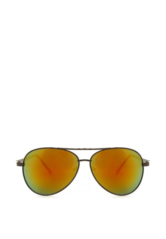 Czarno-Żółte Okulary Imprint