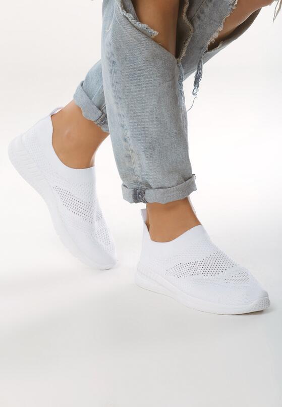 Białe Buty Sportowe Aesthesia