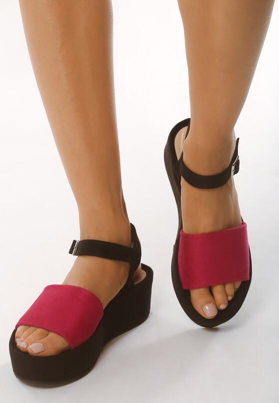 Różowe Sandały Retailer