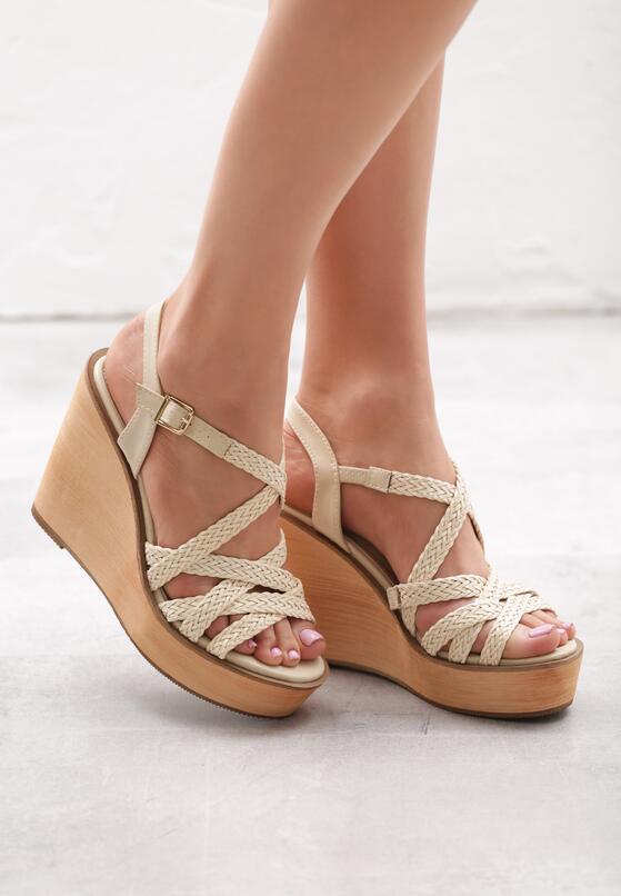 Beżowe Sandały Beauteousness