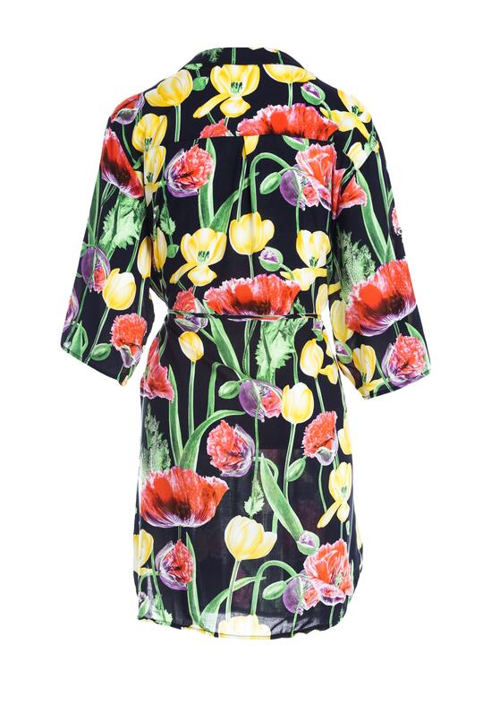 Granatowa Sukienka Completing