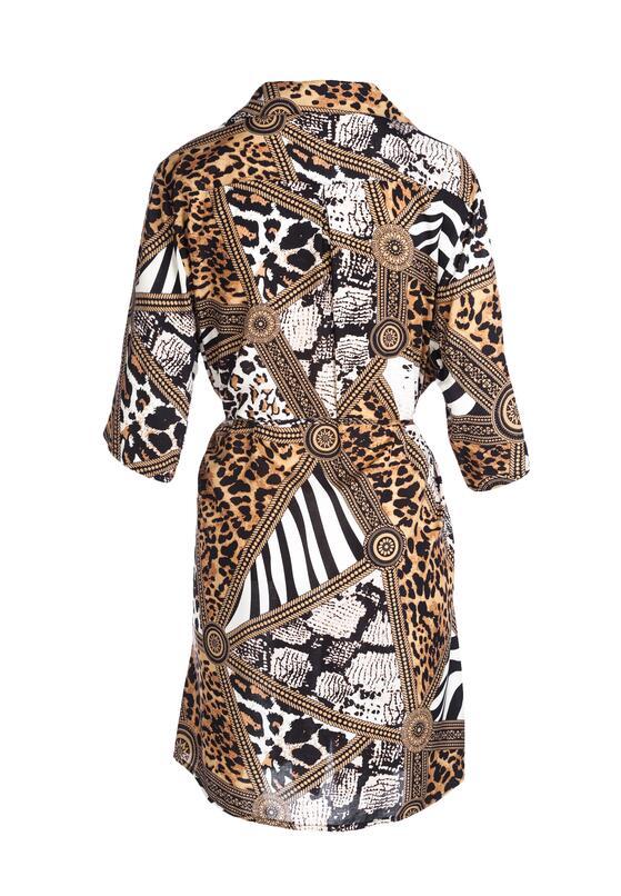 Beżowa Sukienka Unpretended