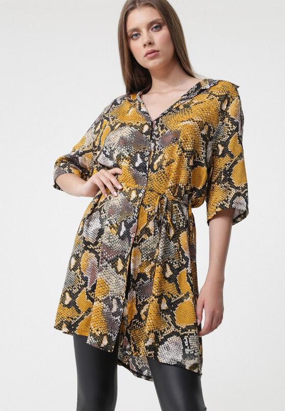 Żółta Sukienka Inoperative