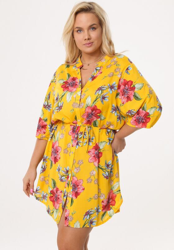 Żółta Sukienka Limiting