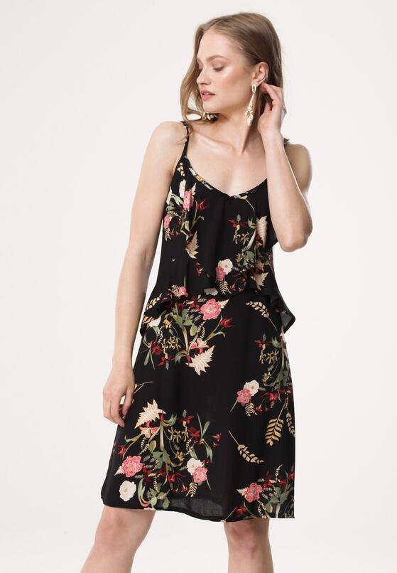 Czarna Sukienka Diuturnal