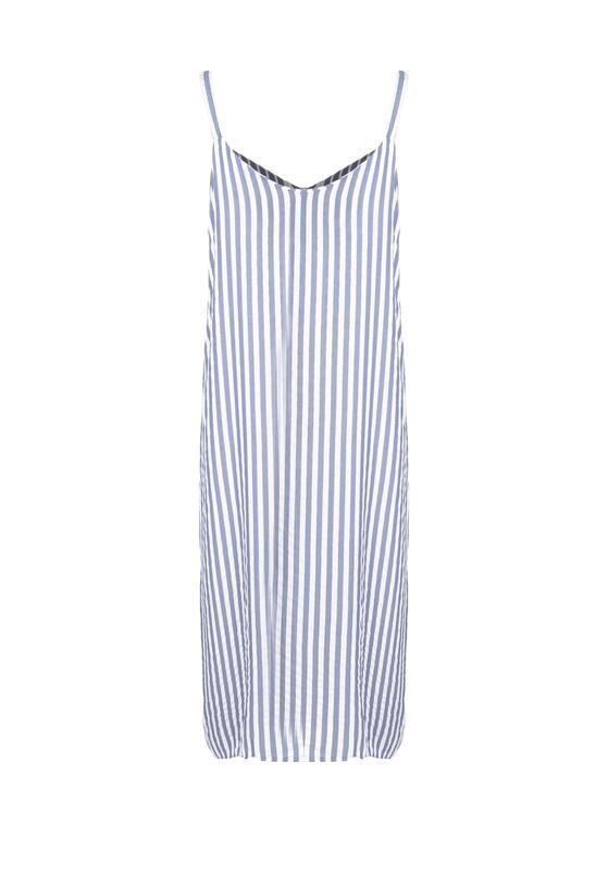 Niebieska Sukienka Perduring
