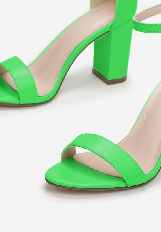 Limonkowe Sandały Authorizing