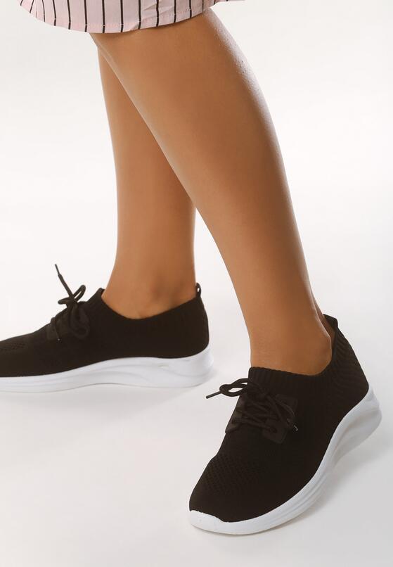 Czarne Buty Sportowe Complying