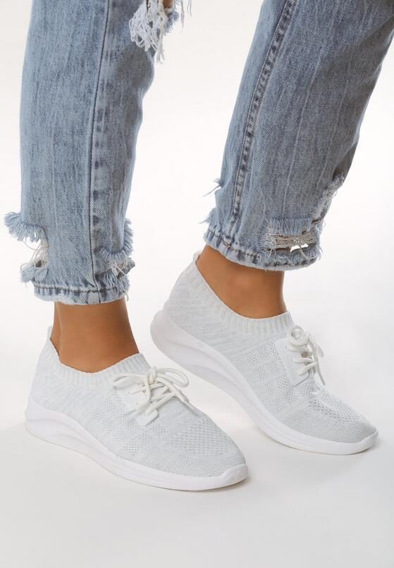 Białe Buty Sportowe Complying