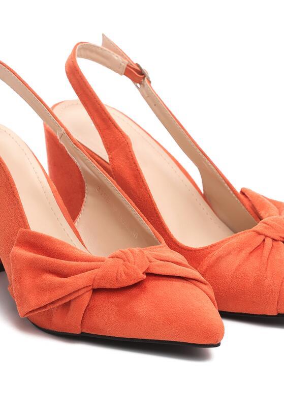 Pomarańczowe Czółenka Hop