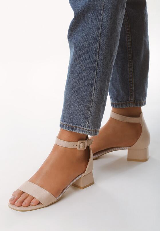Beżowe Sandały Factually