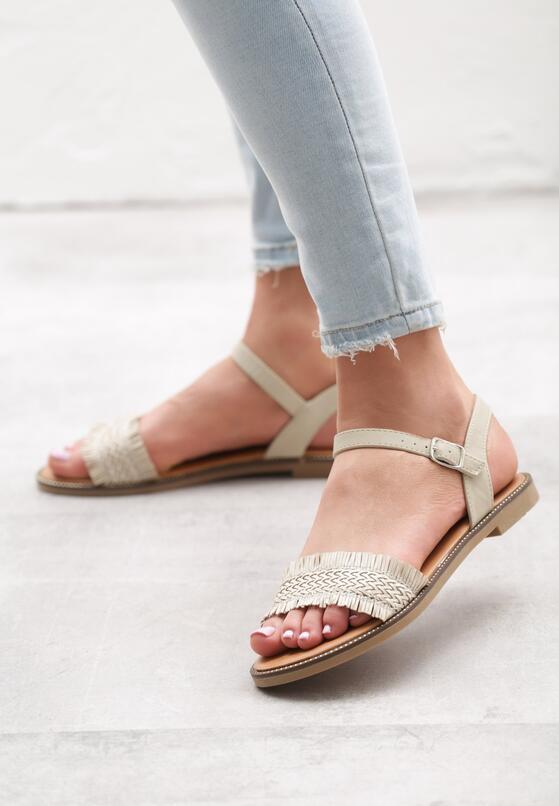 Beżowe Sandały Puente