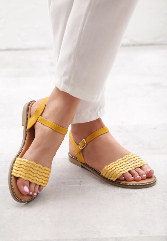 Żółte Sandały Ensembles
