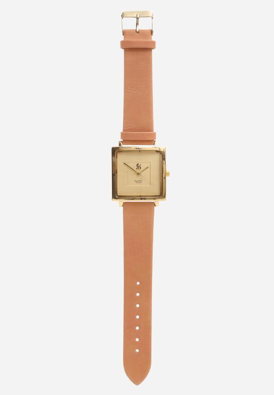 Jasnopomarańczowy Zegarek Outer Space