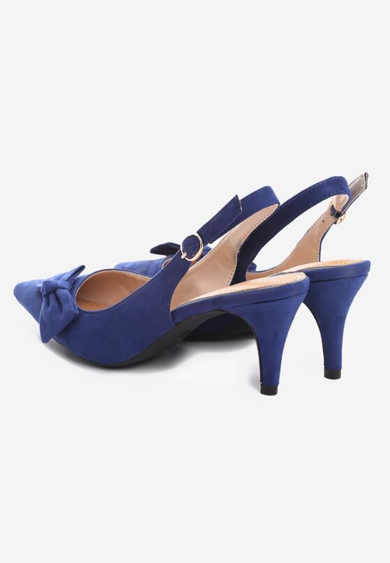 Niebieskie Czółenka Troth