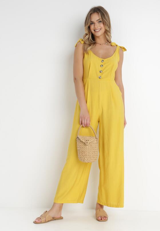 Żółty Kombinezon Superb