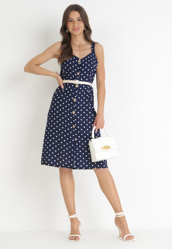 Granatowa Sukienka Dismalness