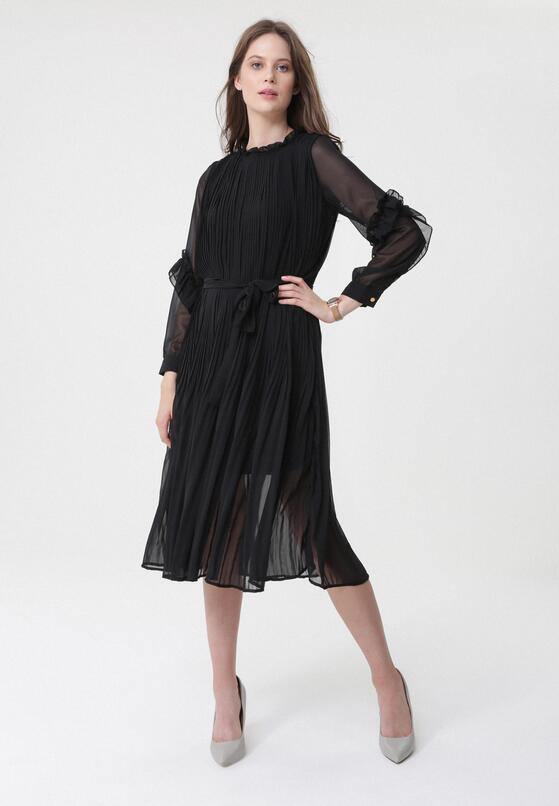 Czarna Sukienka Ferrous