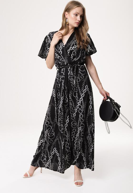 Czarna Sukienka Hyporchema