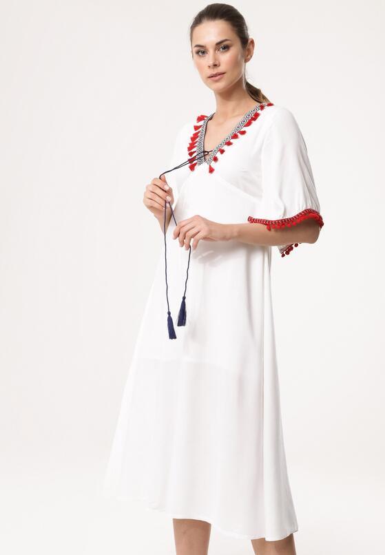 Biała Sukienka Hair