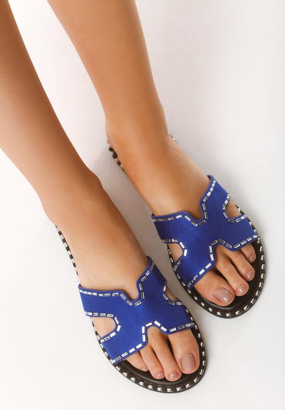 Niebieskie Klapki Firstly