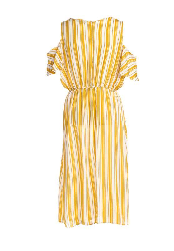 Żółta Sukienka First Base