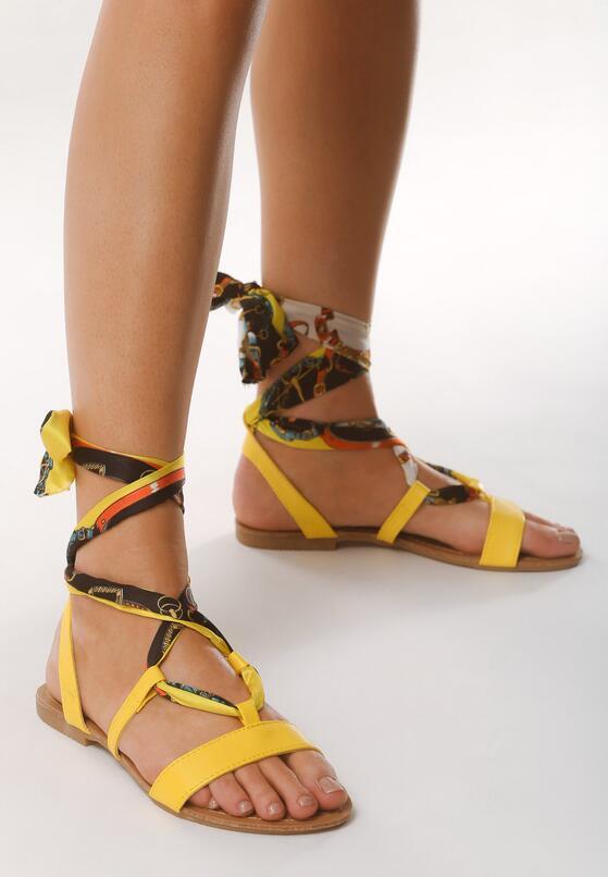 Żółte Sandały Predilection
