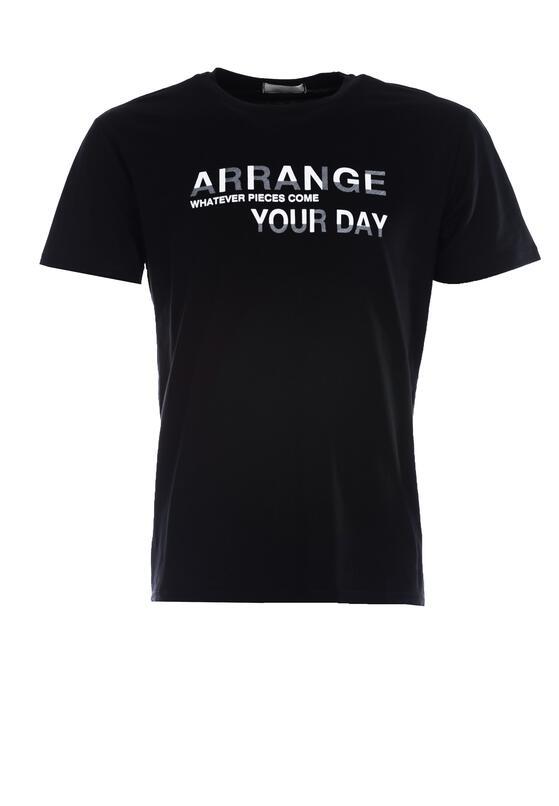 Czarna Koszulka Arrange