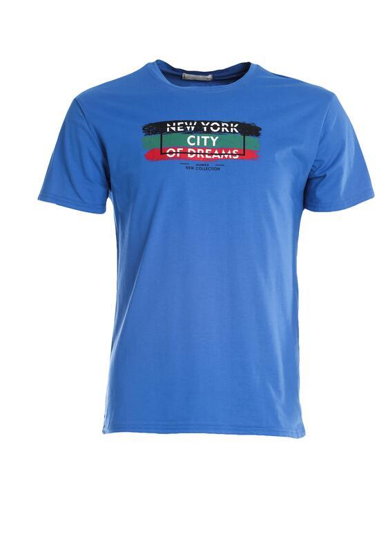 Niebieska Koszulka Go Round