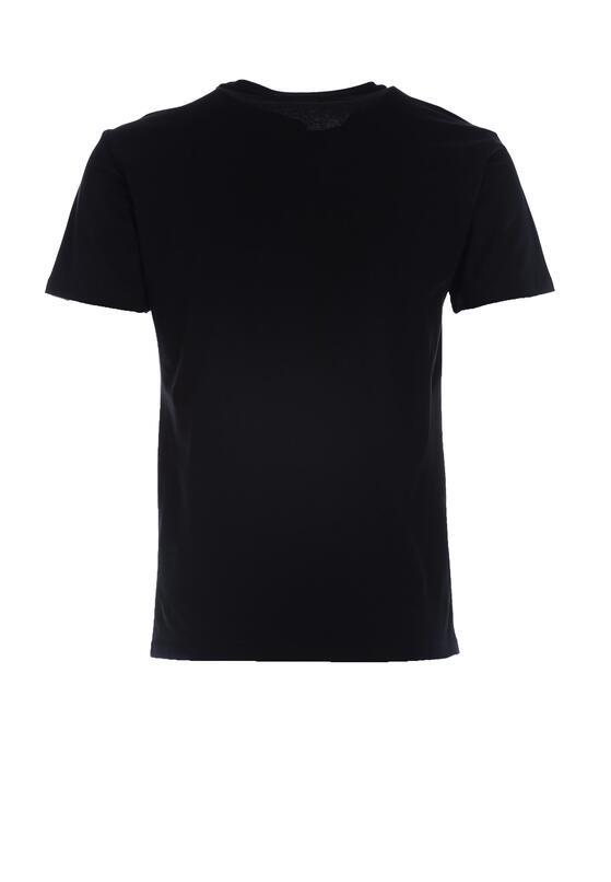 Czarna Koszulka Reticence