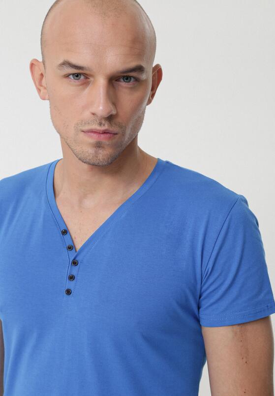Niebieska Koszulka Pugnacity