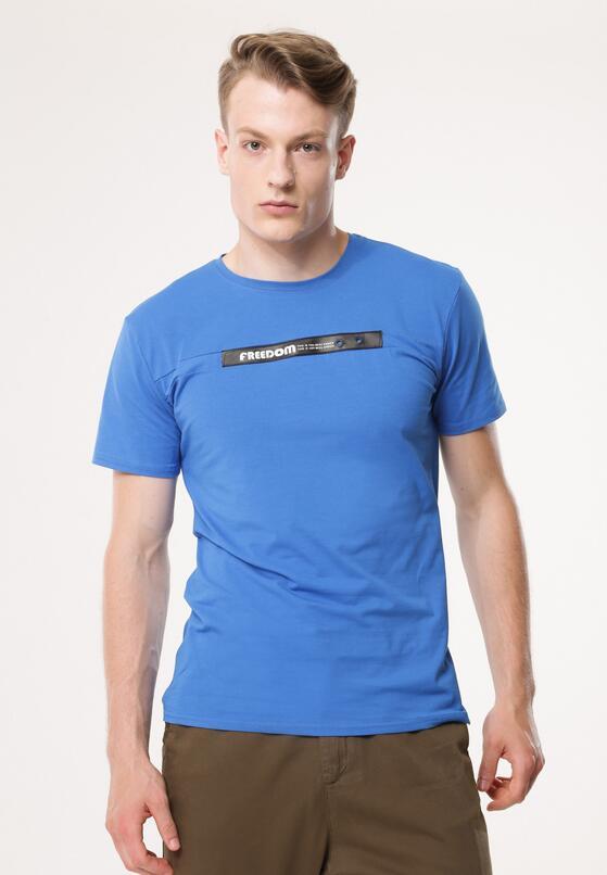 Niebieska Koszulka Participating