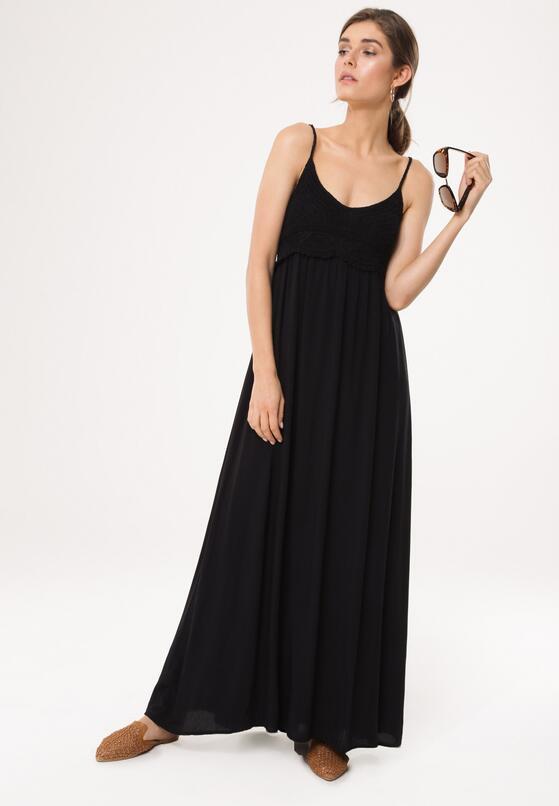Czarna Sukienka Relies