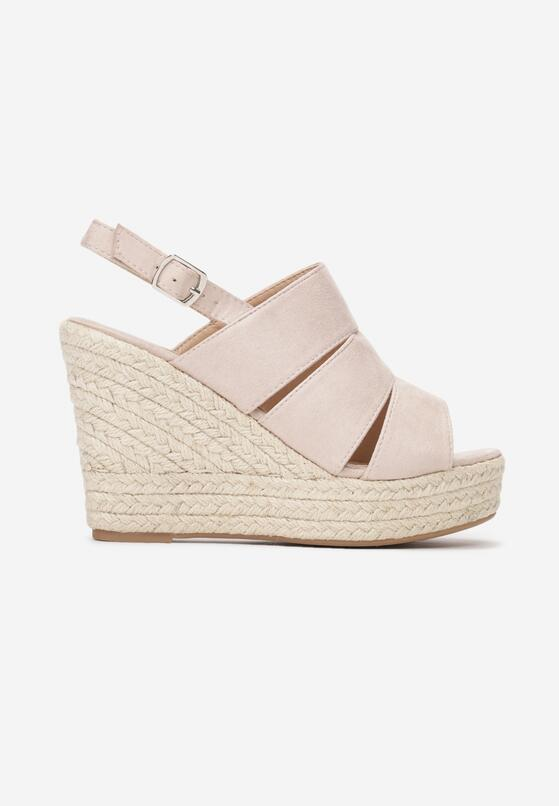Beżowe Sandały Convulse