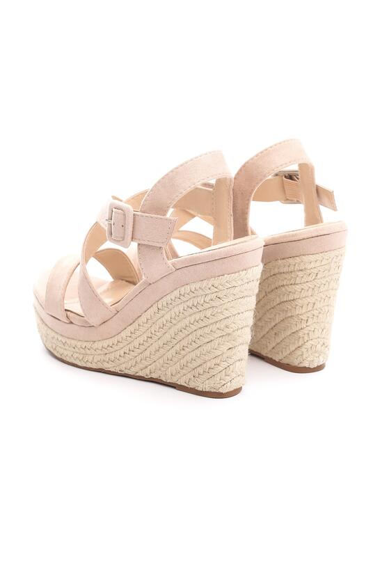 Beżowe Sandały Foment