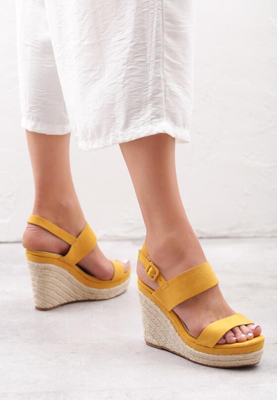 Żółte Sandały Brigandage