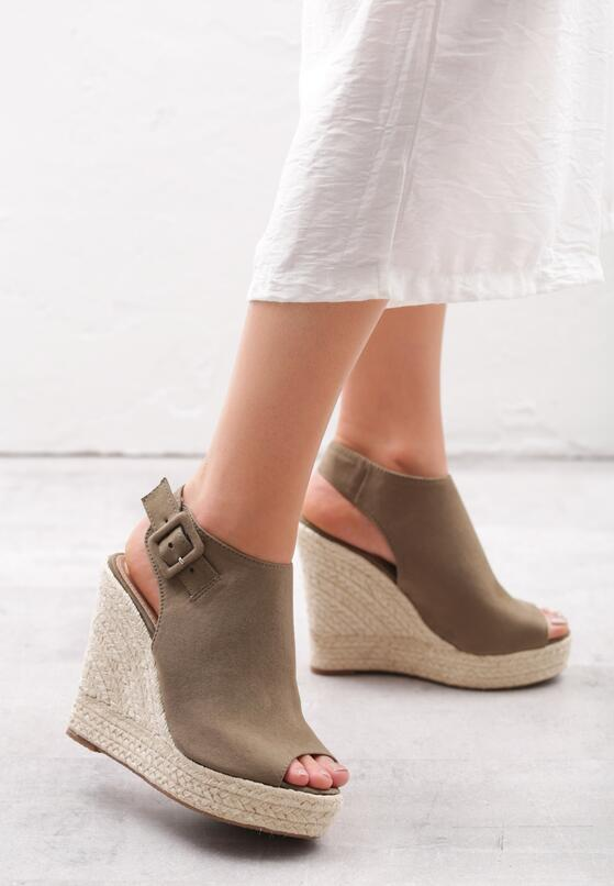Khaki Sandały Rumpus