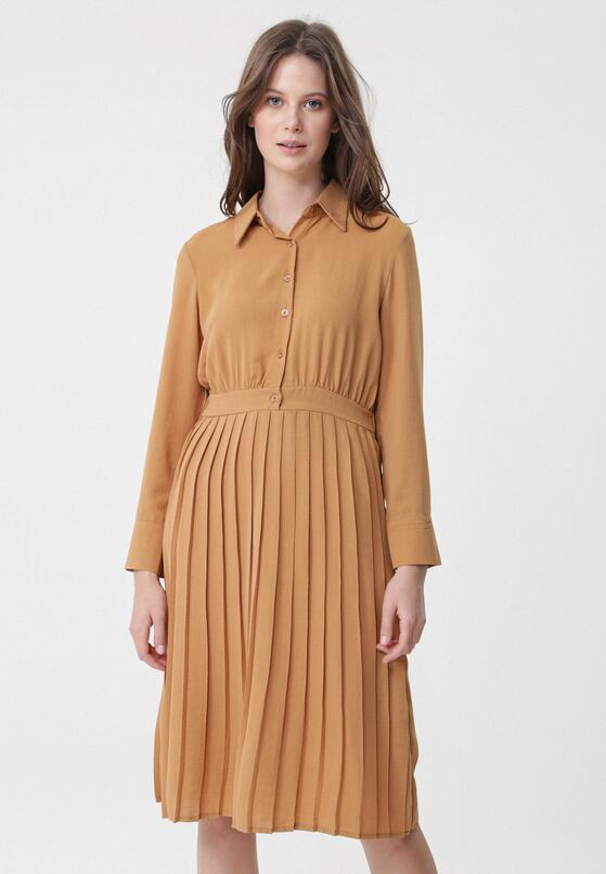 Camelowa Sukienka Reliably