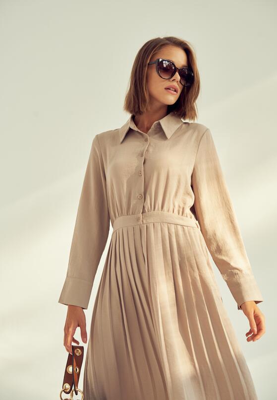 Szara Sukienka Reliably