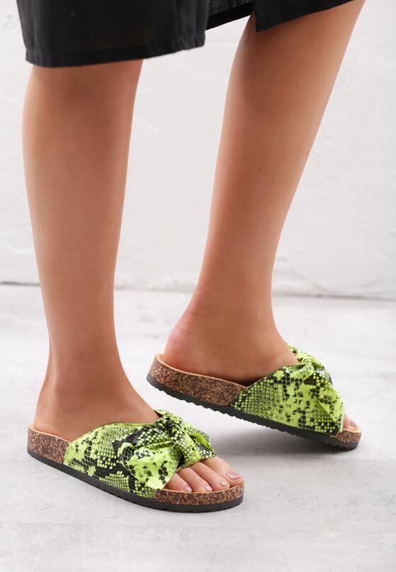 Zielone Klapki Performer