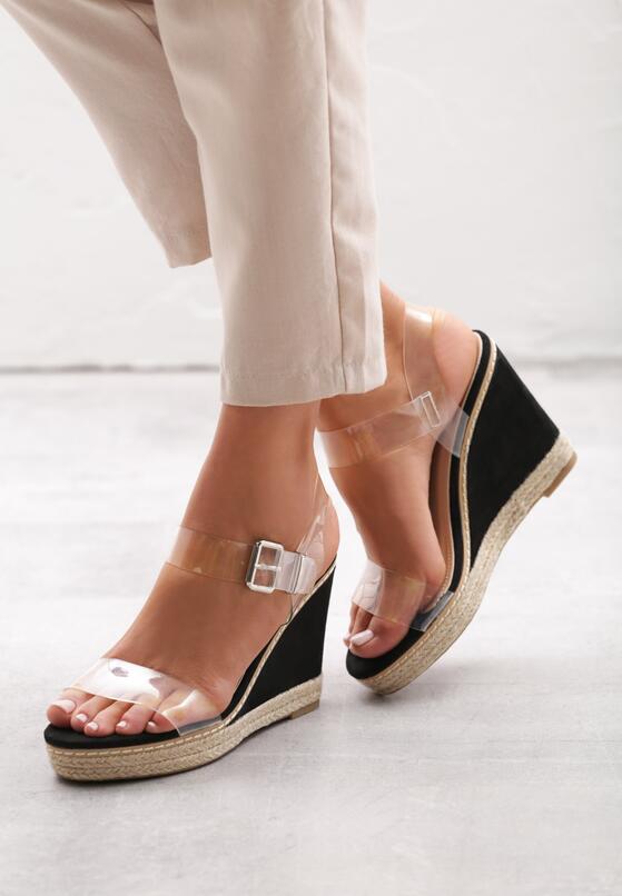 Czarne Sandały Forestall