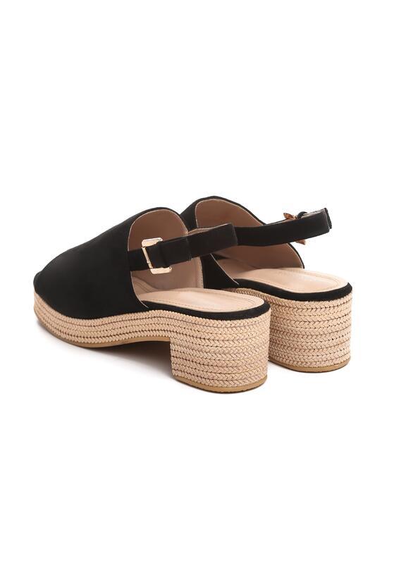 Czarne Sandały Kicks