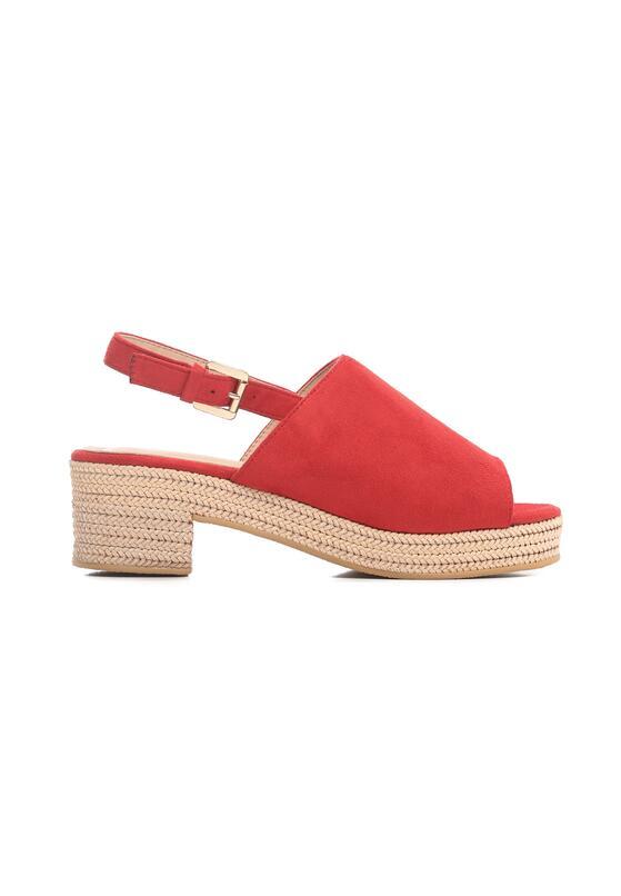 Czerwone Sandały Kicks