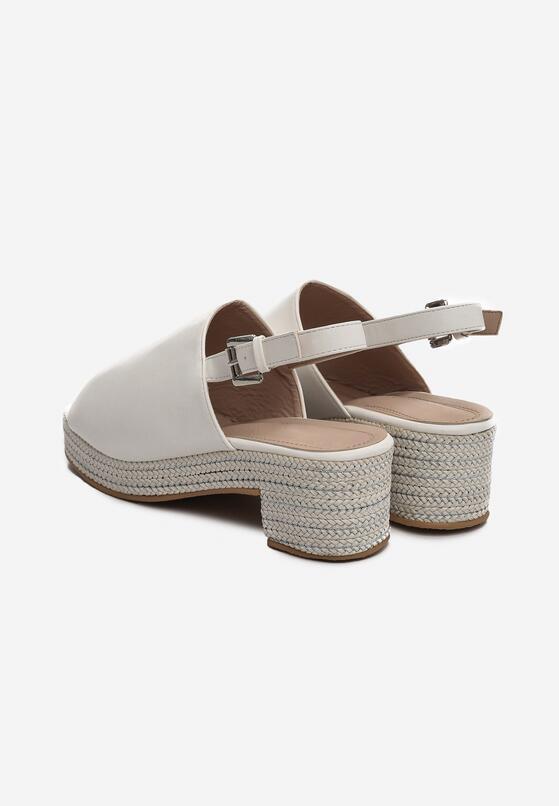 Białe Sandały Kicks