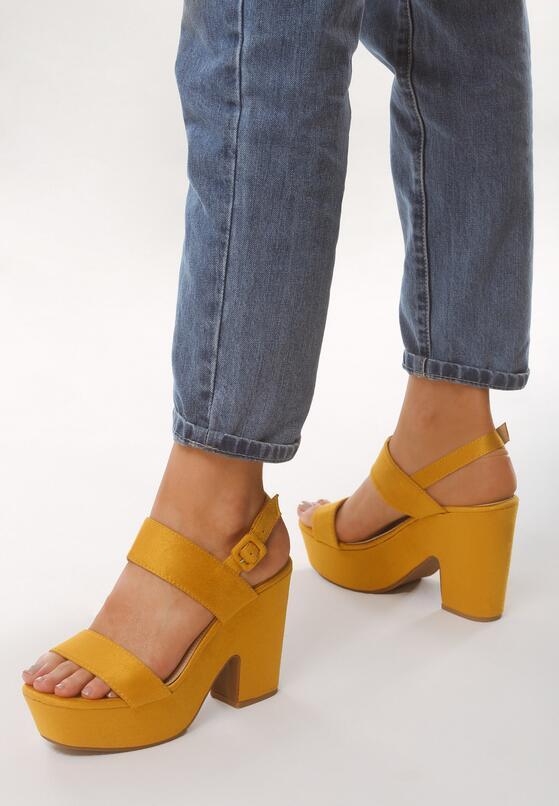 Żółte Sandały Hurdle
