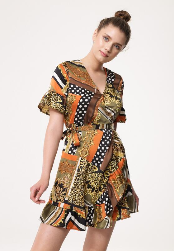 Ciemnozielona Sukienka Persecute